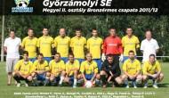 2012-2013  megyei II. osztály Móvári csoport